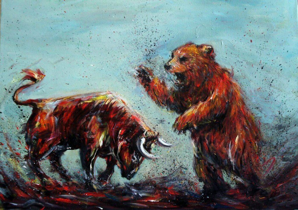 bitcoin shooting star bears