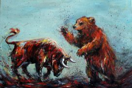 american bear vs Chinese bulls