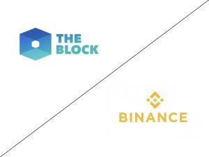 binance vs the block