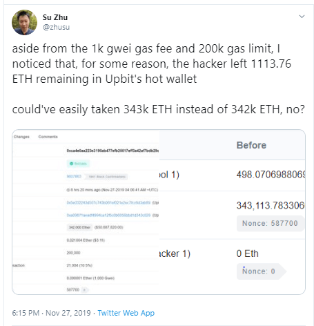 Was Upbit Hack An Attempt To Evade Taxes?