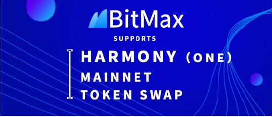 BitMax.io (BTMX.io) Will Support Harmony ONE Token Swap