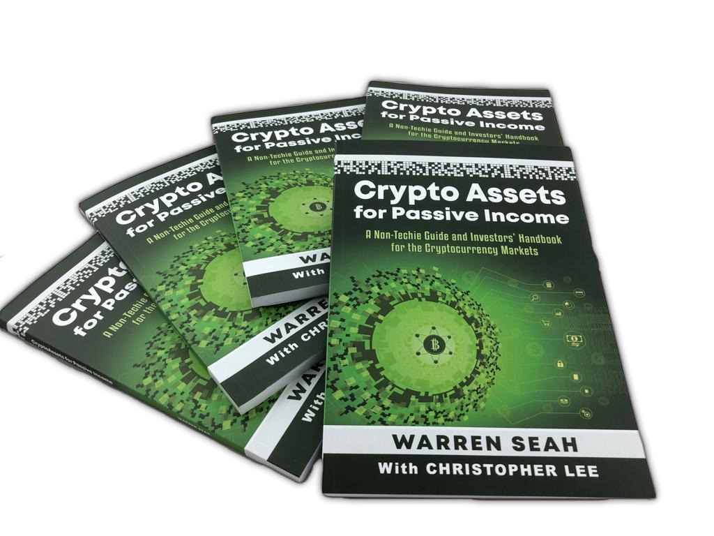 Crypto Assets for Passive Income Book Launch By Warren Seah