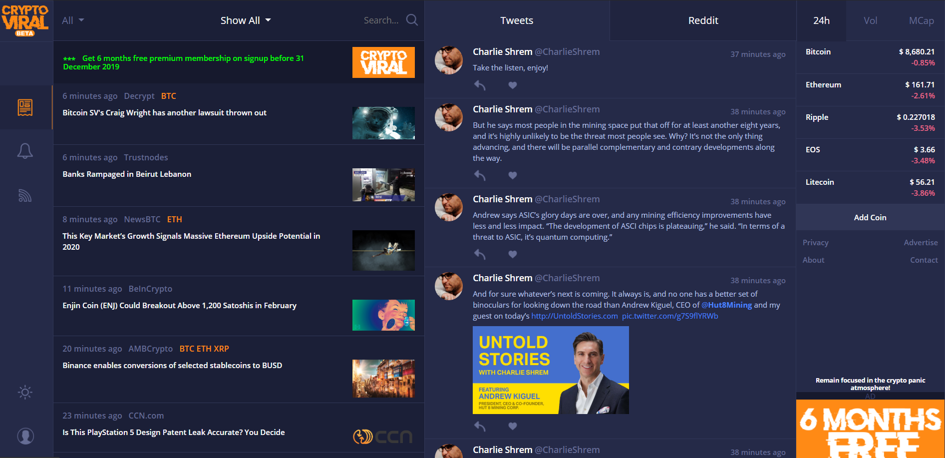 Cryptocurrency news aggregator for your website inside track betting gta san andreas ios cheats