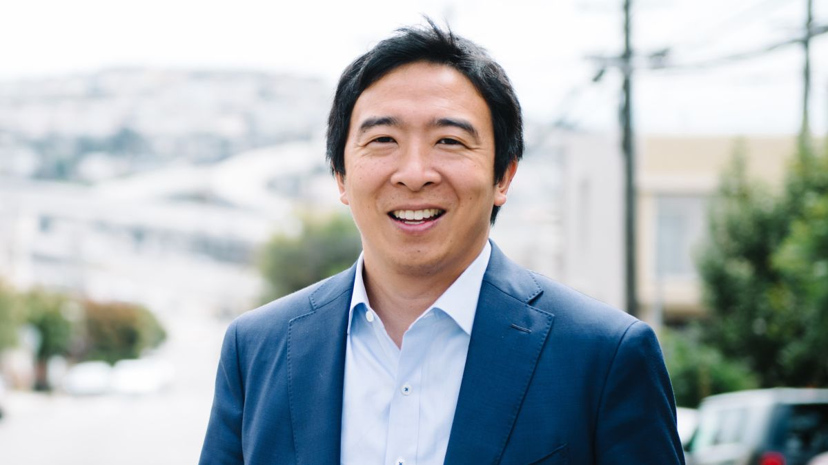 Andrew Yang Calls For Clear Regulations Around Cryptocurrencies
