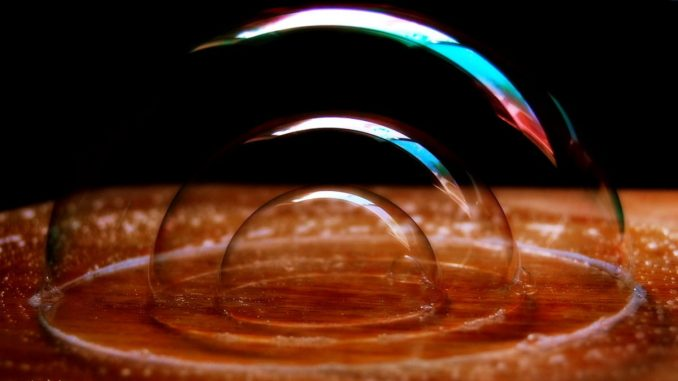 tron defi bubble