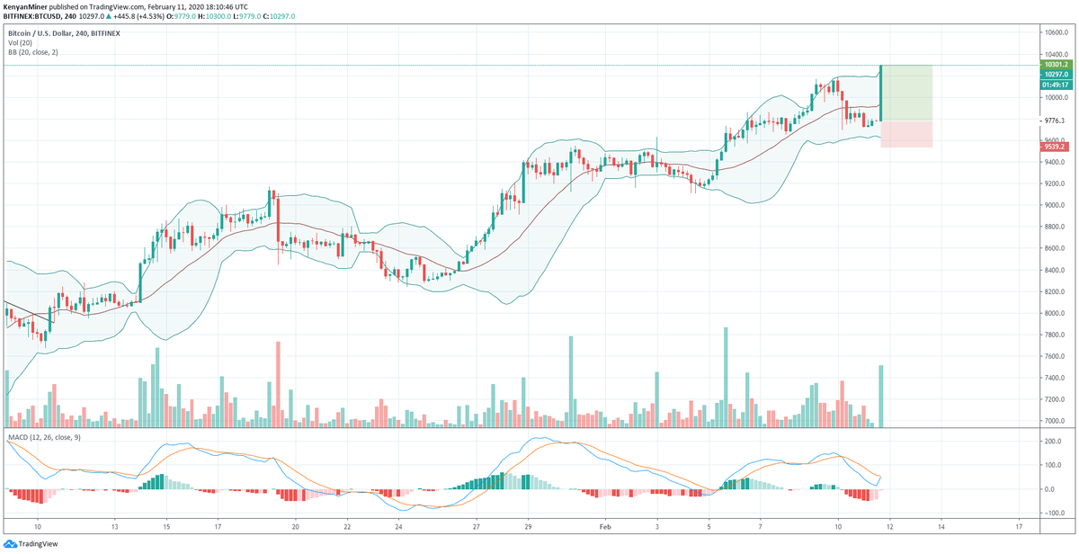 Bitcoin Spikes To New 2020 Highs At ,300 As Bitfinex Maintenance Raises Manipulation Fears