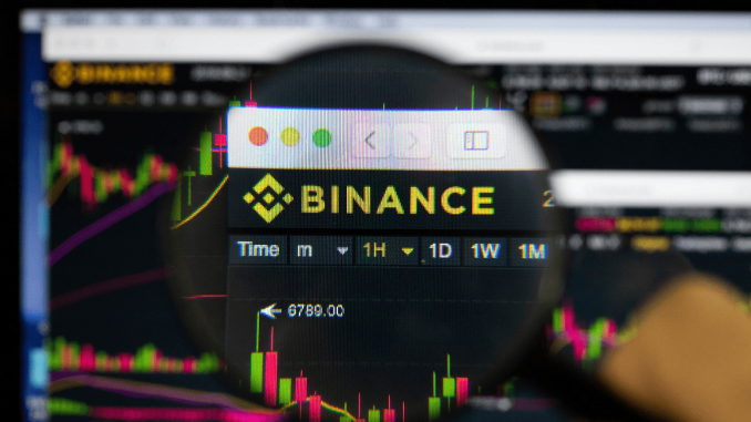 binance no trading market