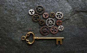 gears and keys image