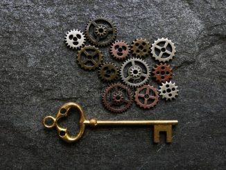 gears and keys image