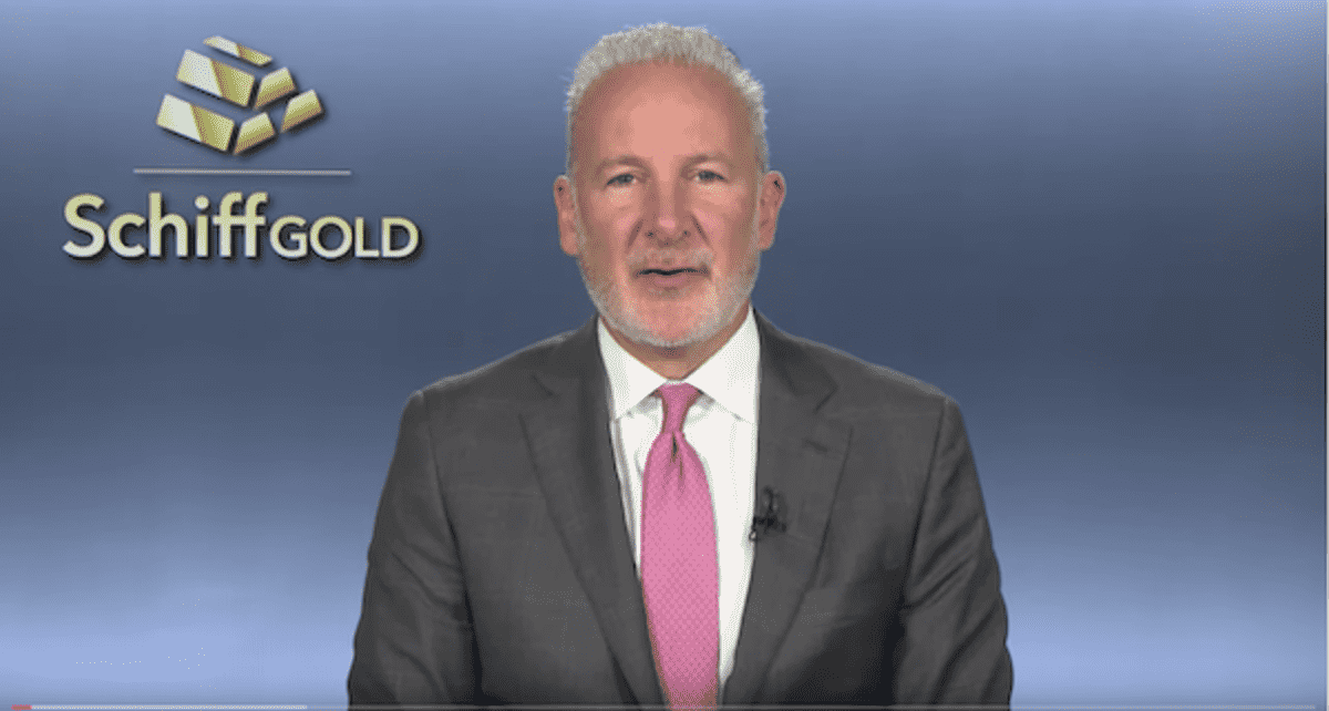 Is Gold Losing its Luster to Bitcoin and Stock Markets? Peter Schiff Cries Foul