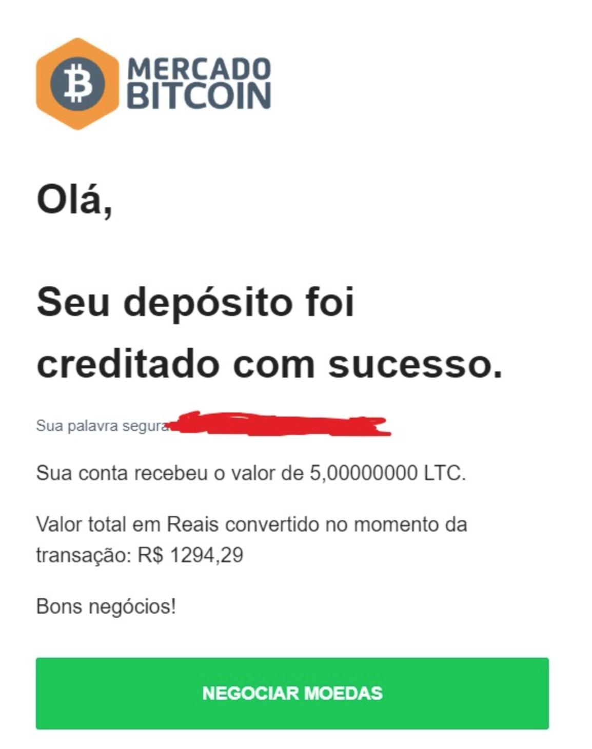 Litecoin Mercado Bitcoin