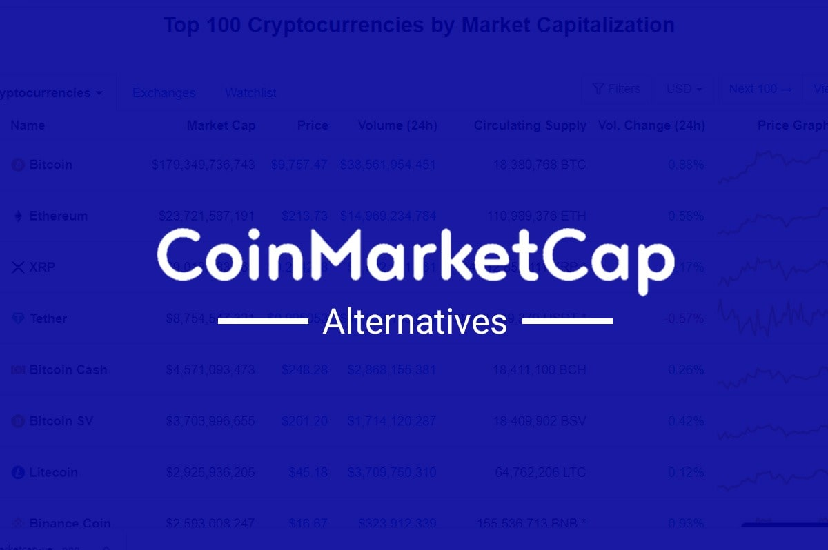Top 10 Must Visit CoinMarketCap Alternatives aka Cryptocurrency Aggregators
