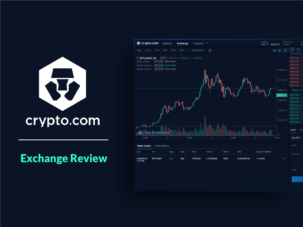 Crypto.com Exchange Review: A Fast & Secure Crypto Trading Platform for Everyone