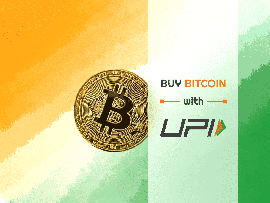 Buy Bitcoin With UPI in India