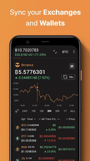 CoinStats portfolio tracker