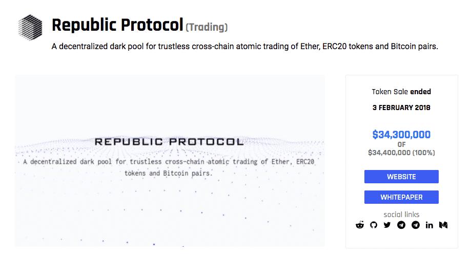 republic protocol ico