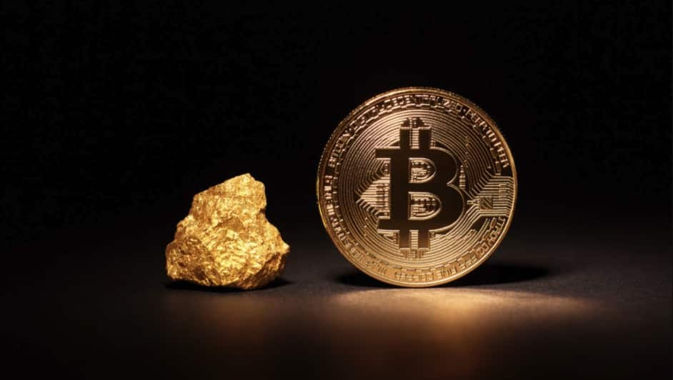 Bitcoin-Gold-stock-market-silver
