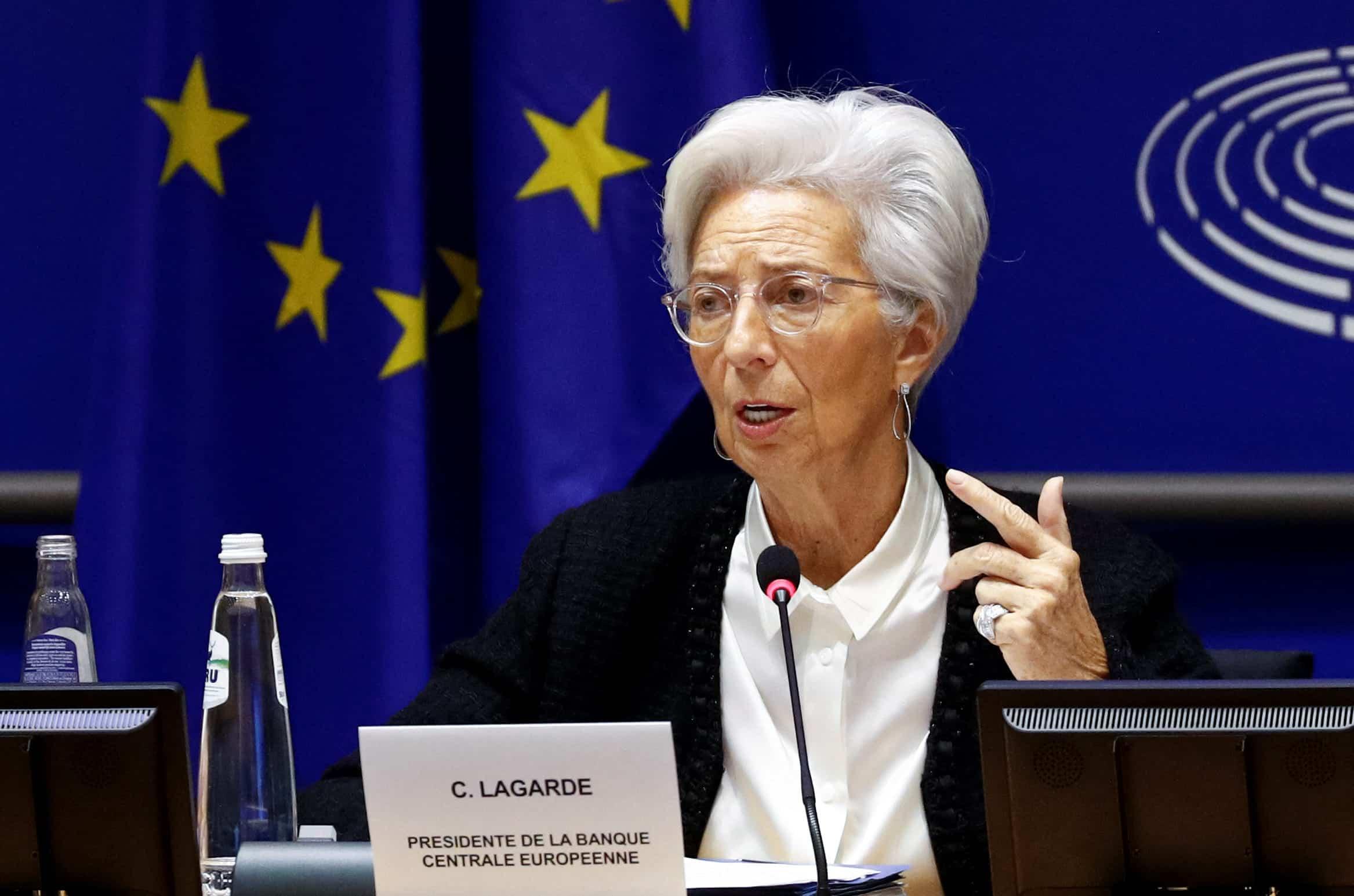 ECB President Christine Lagarde