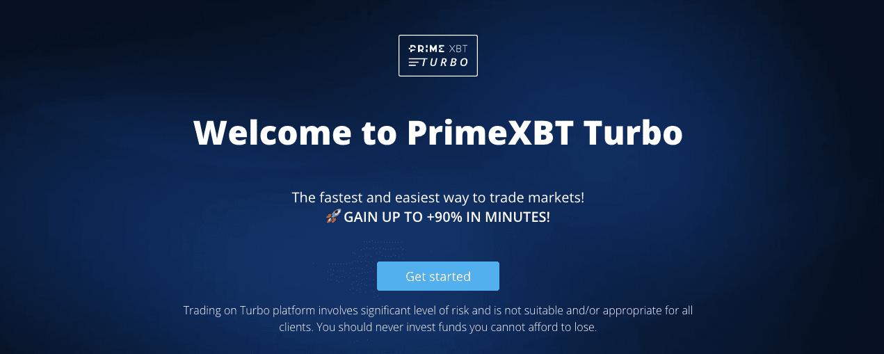 PrimeXBT Turbo