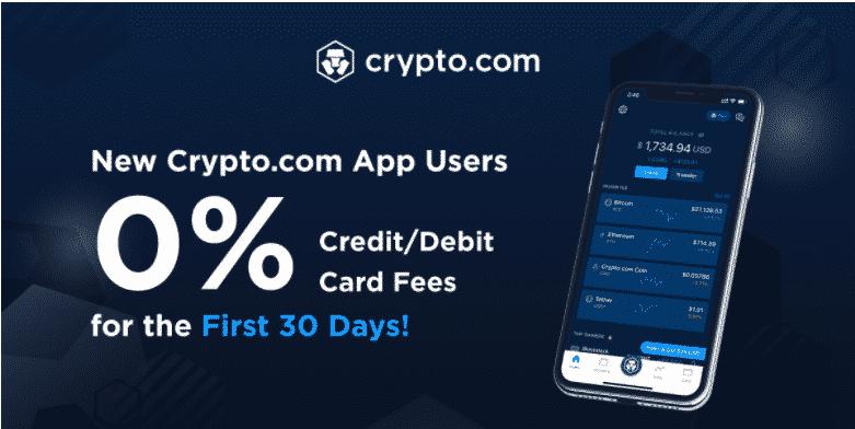 0% Fees For First 30 Days: Crypto.com's Big Crypto Push