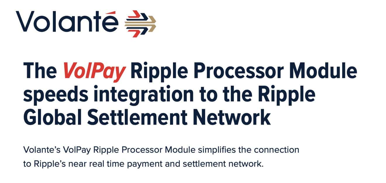 VolPay is utlizing Ripple's Technology