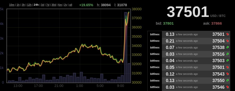 Bitcoin price elon musk