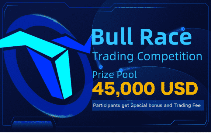 BTCMEX LAUNCHES BULL RACE WITH $45,000 PRIZE POOL AS THE BOT RACE ENDS