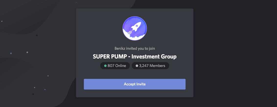 super pump discord