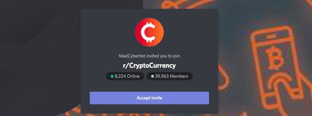 crypto Discord group