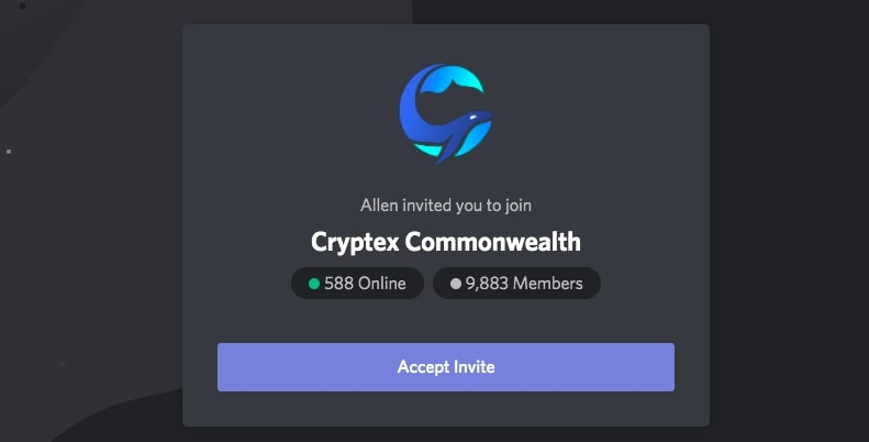 crypto Discord group