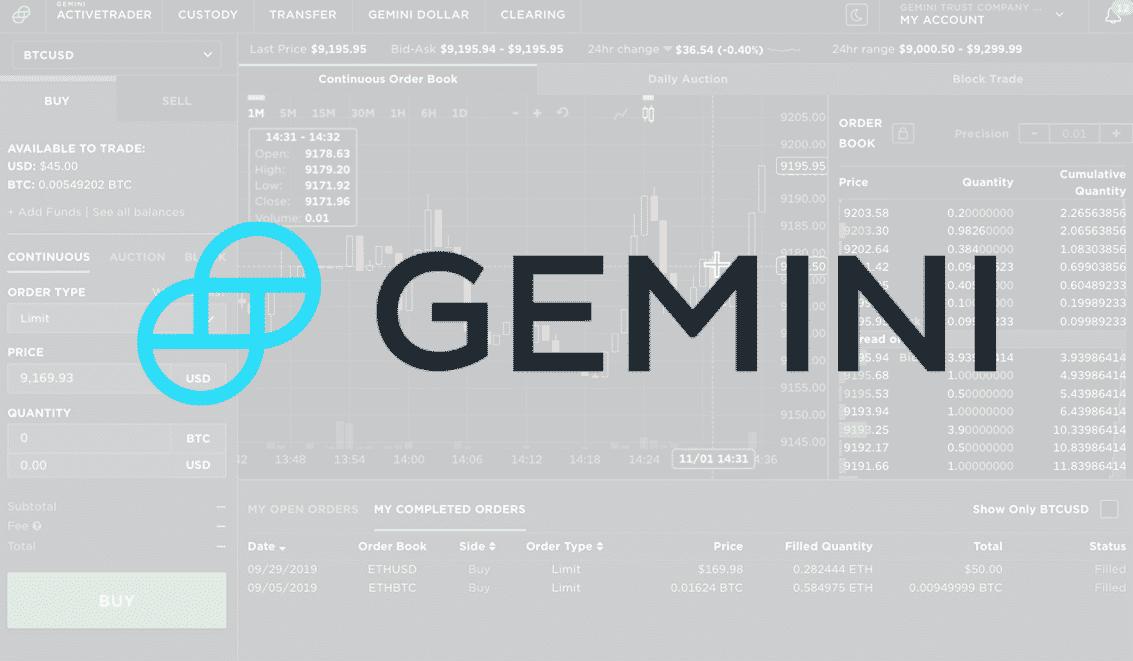 Gemini Faz Parceria Com a MasterCard para Facilitar Suas Recompensas Cripto de Cartão de Crédito