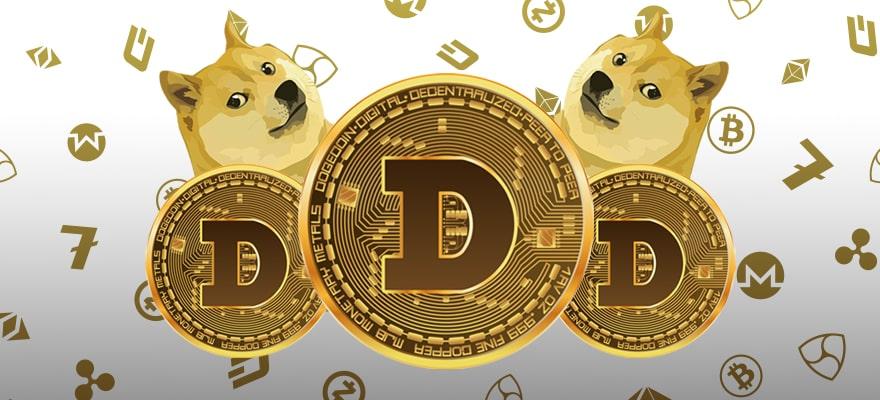 "Dogecoin ($DOGE) Sobe Mais de 20% Após Tweet ""DogeFather"" do Musk"
