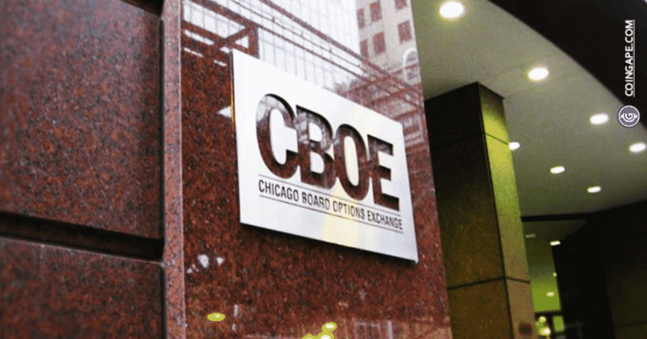 CBOE Files With SEC to List Fidelity's Wise Origin Bitcoin ETF