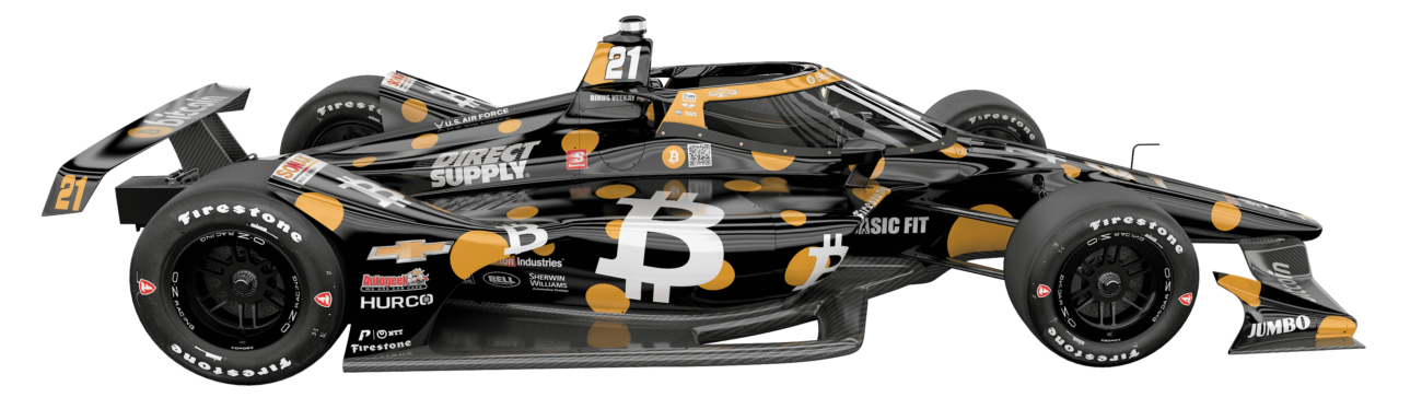 """World's First """"Bitcoin Car"""" to Race at the 105th Running of the Indianapolis 500"""