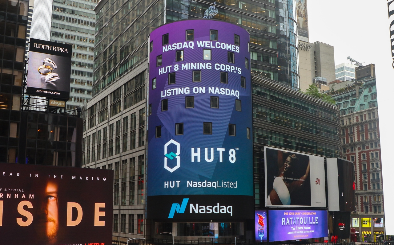 Just-In: Hut 8 Mining to go Live on Nasdaq This Week