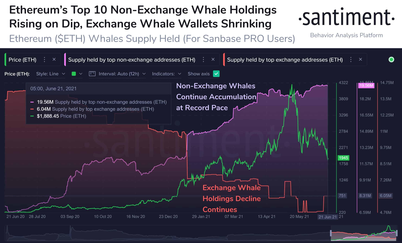 Ethereum ETH Whale Distribution