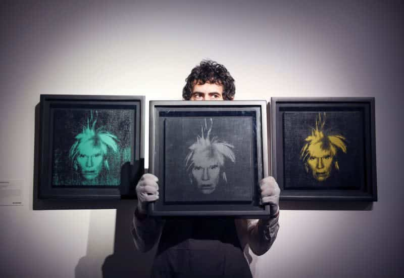 "Tron's Justin Sun Wins Andy Warhol's ""Three Self-Portraits"" NFT for $2.8 Million At Binance NFT Auction"