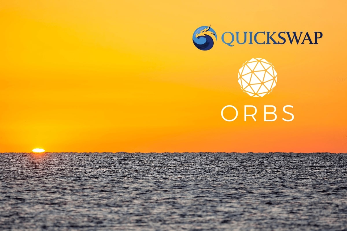 Orbs Is Available on QuickSwap