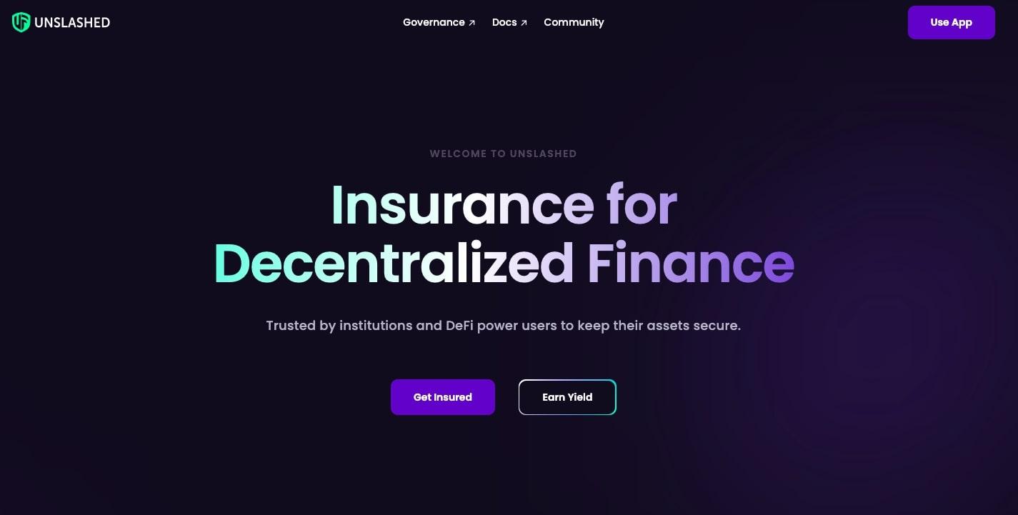 Unslashed Finance