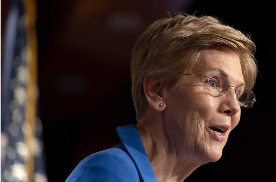 Senator Elizabeth Warren Takes a Jibe at Crypto Ecosystem's Unpredictable Gas Fees