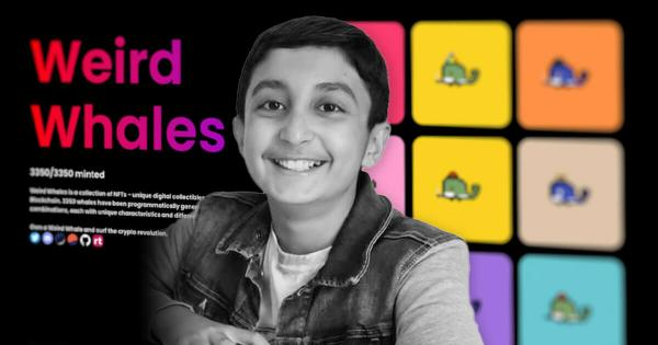 This NFT Collection By This 12-Year Old Generates $5 Million In Record Time
