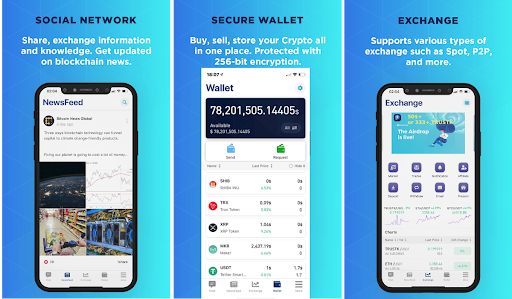 A DeFi Wallet strives to create an Intuitive Experience by integrating Social Networks