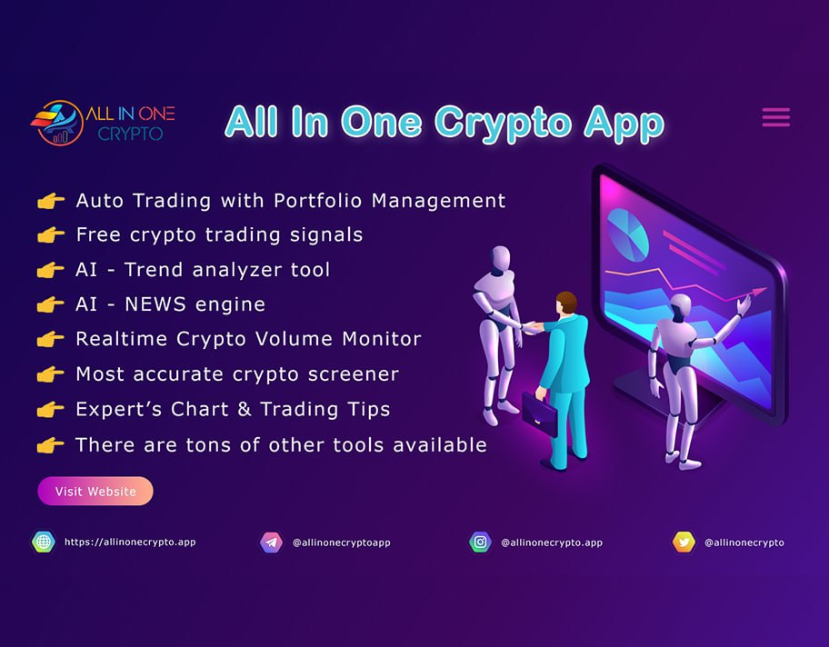 all in on crypto app