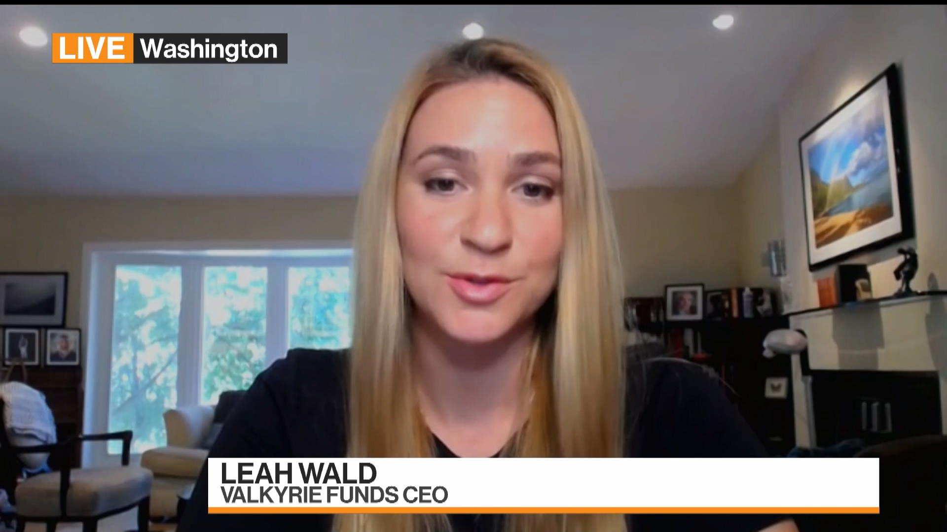 Valkyrie Funds CEO Leah Wald on choosing Nasdaq Exchange